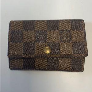 Authentic Louis Vuitton Damier Ebene Cles 6
